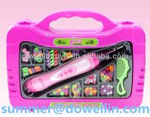hair beader toys.plastic hair beader.girl gift.