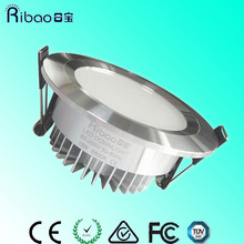 Warranty 3 Years High Power Round Recess Dimmable Cree COB 10W LED Downlight