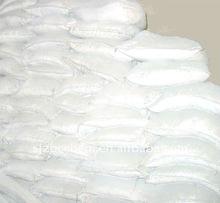 white powder coated precipitate calcium carbonate