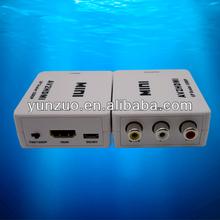 latest portable high quality mini AV to hdmi converter best buy