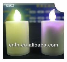 fashion mutli color led decoration candle wholesale