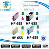2014 best price ink cartridge No.655 BK (CZ109AE) refill ink cartridge for hp 4615 printer