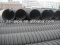 Polietileno de alta densidad de doble- de pared corrugado de tuberías para el agua de drenaje 2014