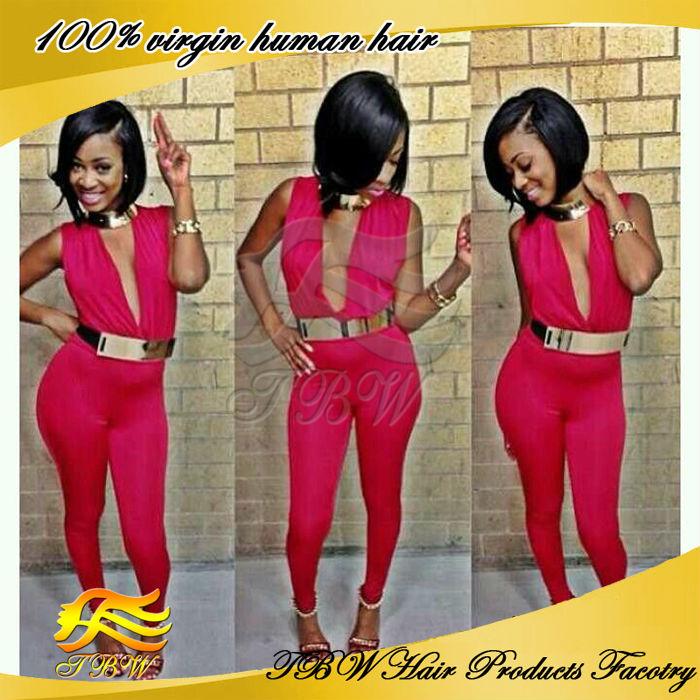 wigs, short bob wigs for black women, View bob brazilian hair wigs ...