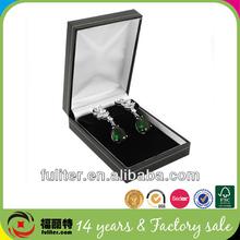 Black earring holder jewelry box custom