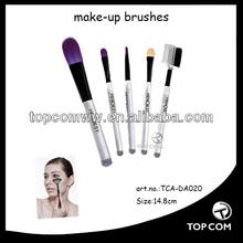 European standard passed 5pcs cosmetic make-up brush