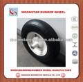 Plástico rígido carrinho de mão de roda 4.00-8