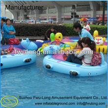 Marine grade battery electric Bumper boat remote control boats