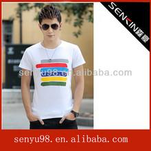 Dacron cotton t-shirt rock brand men's clothing casual dress fashion t-shirts
