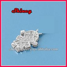 2014 fashion jewelry Girl Pendants Sterling Silver 925 Fashion Childrens Jewelry