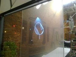 advertising projection rear type window film