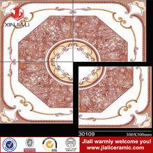 china new design 300X300mm size glazed porcelain new model flooring tiles