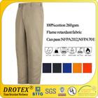 100% cotton flame Retardant pants for welding