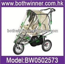 AS085 transparent cover rain cover for pushchair