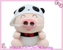 Lovely baby soft toys pig design /plush toys with pig design
