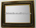 مرآة مؤطرة خشبية ديكور الجدار الشنق