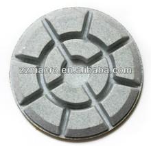 best quality refurbished nursing granite polishing pad 80mm*12mm for granite marble concrete ceramic floor polishing