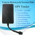 Dispositivo de localización para la motocicleta& mini vehículo geo- cerca de alarma gps tracker tk06a