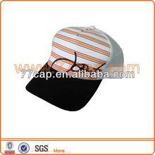 Fashion Children Mesh Baseball Hats& Caps imprint cutomed logo