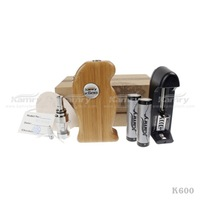 Kamry Newest K600 Kit E-Cig Kit ,Healthy electronic gift wood cigar K600 E-cig