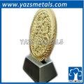 fábrica personalizado moeda de ouro com o logotipo