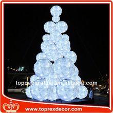 Festival Decoration hollow glass balls
