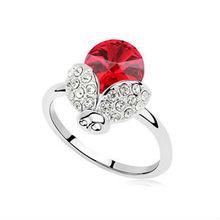R9122 2013 fashion lady's ruby ring