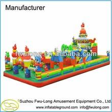 Big Inflatable Funcity / inflatable playground slide