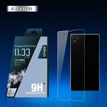 OTAO tempered glass digitizer for sony xperia neo l mt25i touch screen with fashionable retail package