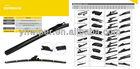 natural rubber reflex wiper blade multifunctional car mitsuba wiper blade