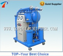 Multi-stage precision insulation oil purification machine remove water, gas, acid,particles well,no pollution,tubes design