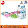 botella de agua mineral de impresión de la etiqueta