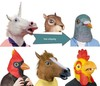 Alibaba New Style Latex Horse Head Mask Party Masks for Sale
