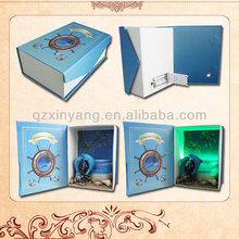 Handcrank Music Box Newest Chic Ocean Paper Music Box Speaker Wedding Gift