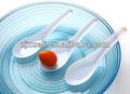 Plástico colher chinesa, descartáveis chinês colheres, descartáveis talheres plastc