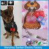 safety warming glowing in dark custom dog collar manual dog tag machine