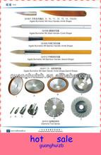 Steel Handle Knife Shape Size H4.5*10.5*65 mm Knife, Diamond tools Agate Burnisher