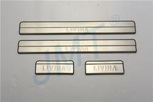 Top Seller ! Door sill plate for LIVINA 2013