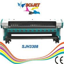 large format solvent printer konica head price