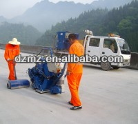 road Shot Blasting Machine with art dust collection system China manuacturer