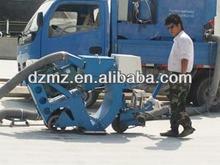 floor grit machine with dust collection system China manuacturer/road shot blasting machine/floor shot blaster