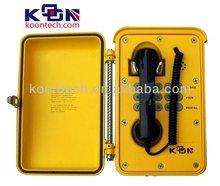 Waterproof Telephone For Outdoor Use Knsp-01 IP67 waterproof phone