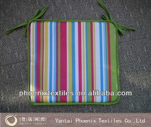 cigarette resistant 100% polyester colourful outdoor cushion wholesale