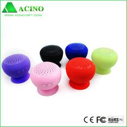 mini speaker bluetooth silicon with sucker back