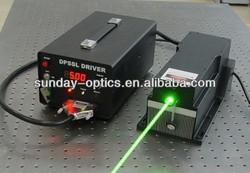 High power 10W green 532nm laser