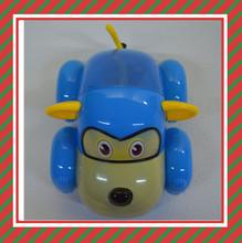 Cartoon Monkey Shaped Toys Car Flashing Promotional Toys For Kids