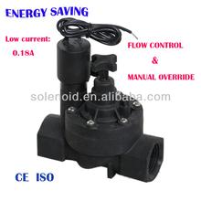 Electric plastic valve control box