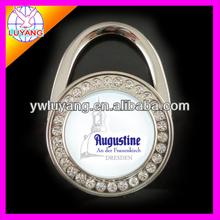 2012 fashionable metal floding lock style bag holder