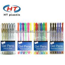 HTGS020 rainbow gel ink pen