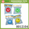 2014 hot sale yoyo wholesale Classic Toy funny smile yoyo with light top game boy toy kids yoyo ball toy for sale H012104